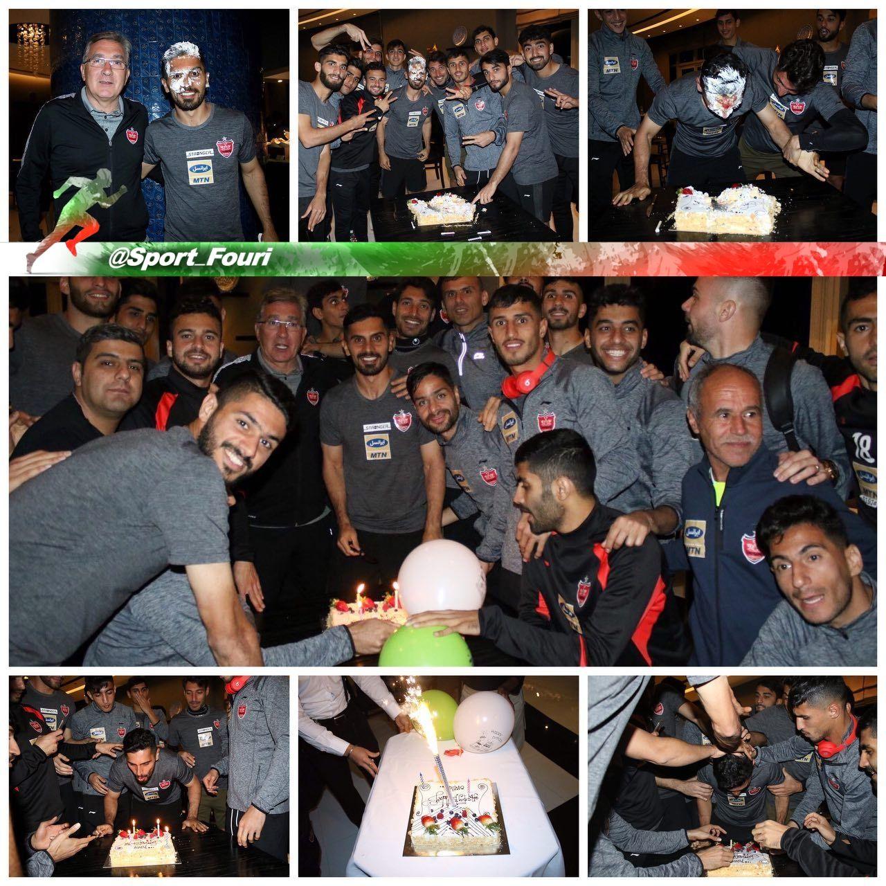 جشن تولد امید عالیشاه در قطر + عکس