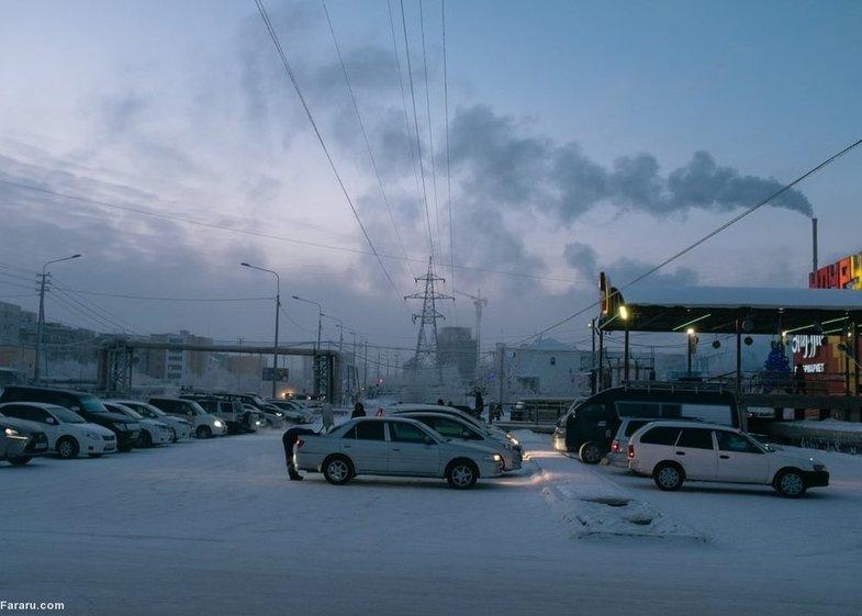 زندگی در دمای منفی ۴۰ درجه سانتیگراد! + تصاویر