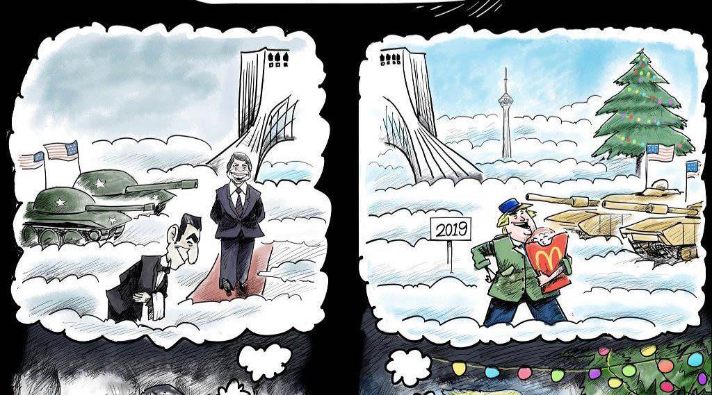 ترامپ و کارتر در میدان آزادی! + عکس