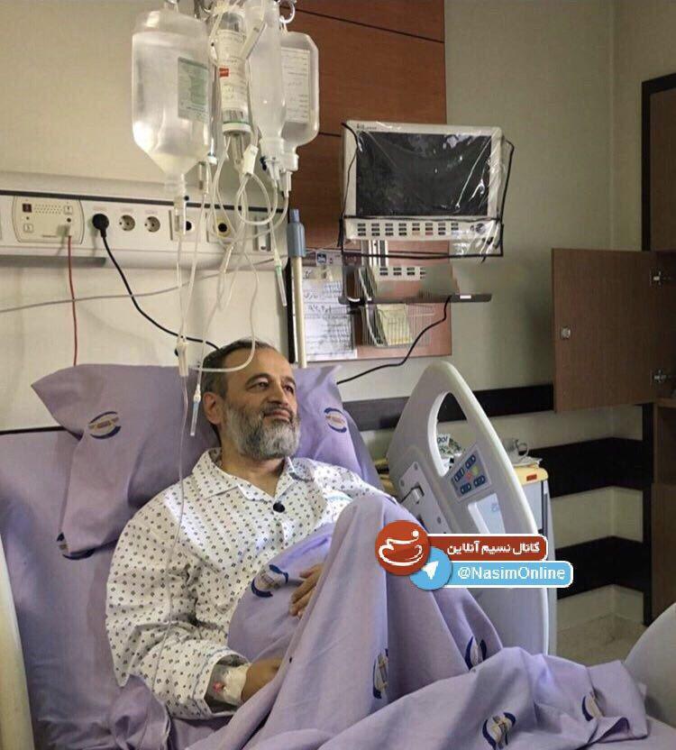 حجت الاسلام پناهیان در بیمارستان + عکس