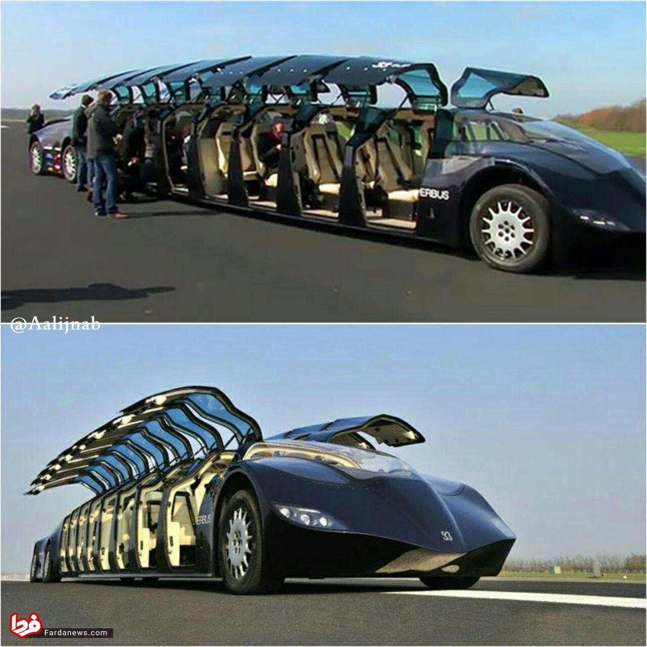 ماشین ۱۵ متری شیخ عرب! + عکس