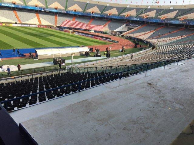 استادیوم آزادی پس از بازسازی + عکس