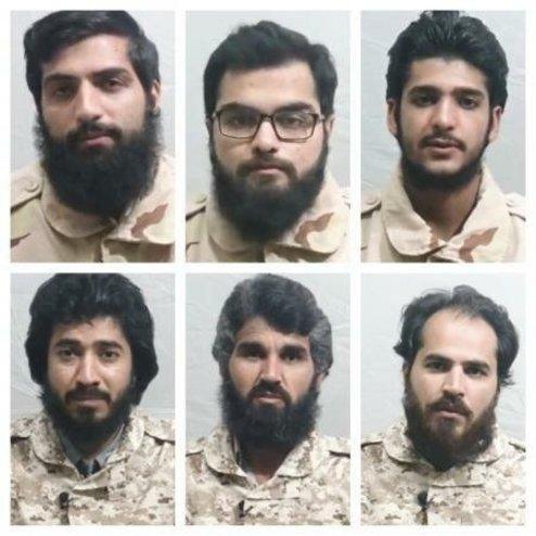 تماس تلفنی مرزبانان ایرانی ربوده شده با خانوادههایشان + عکس