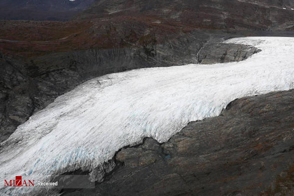 ذوب یخهای آلاسکا + عکس