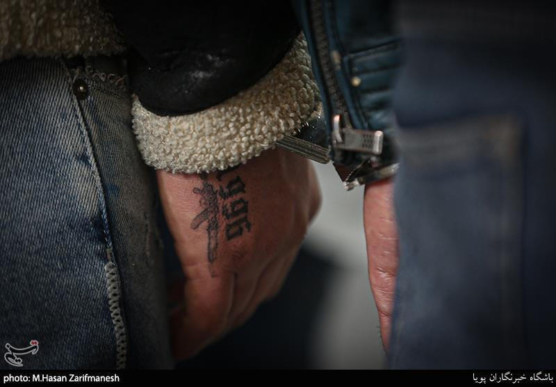 خالکوبی دست عاملان تیراندازی در محله نازی آباد تهران + عکس