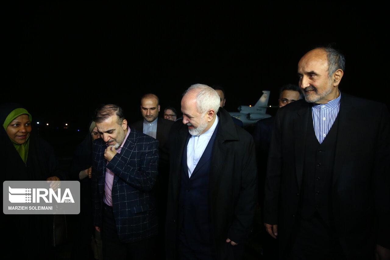 بازگشت مسعود سلیمانی به کشور + عکس
