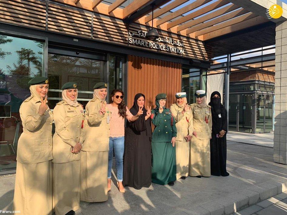 تصاویری از زنان پلیس در دبی + عکس