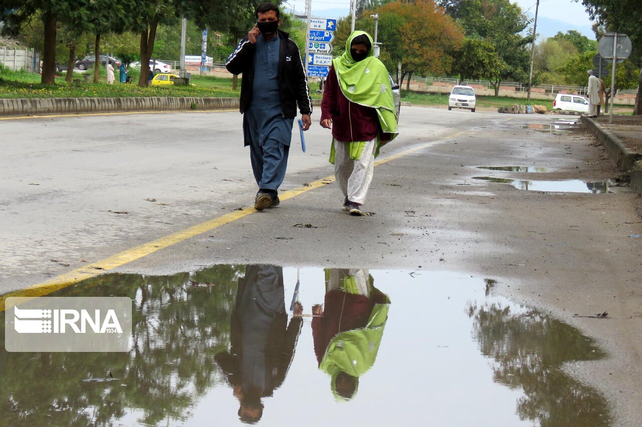 تعطیلی پایتخت پاکستان در مقابله با شیوع کرونا + عکس