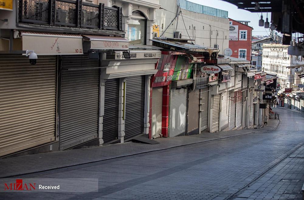 ترکیه در روزهای کرونایی + عکس