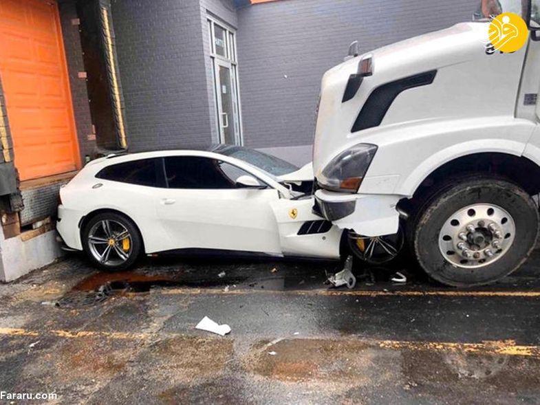 راننده عصبانی با کامیون، فراری رئیسش را له کرد! + عکس