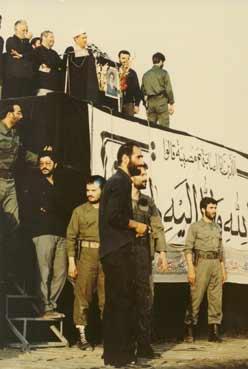سخنرانی ناتمام مرحوم هاشمی در تشییع امام خمینی(ره) + عکس