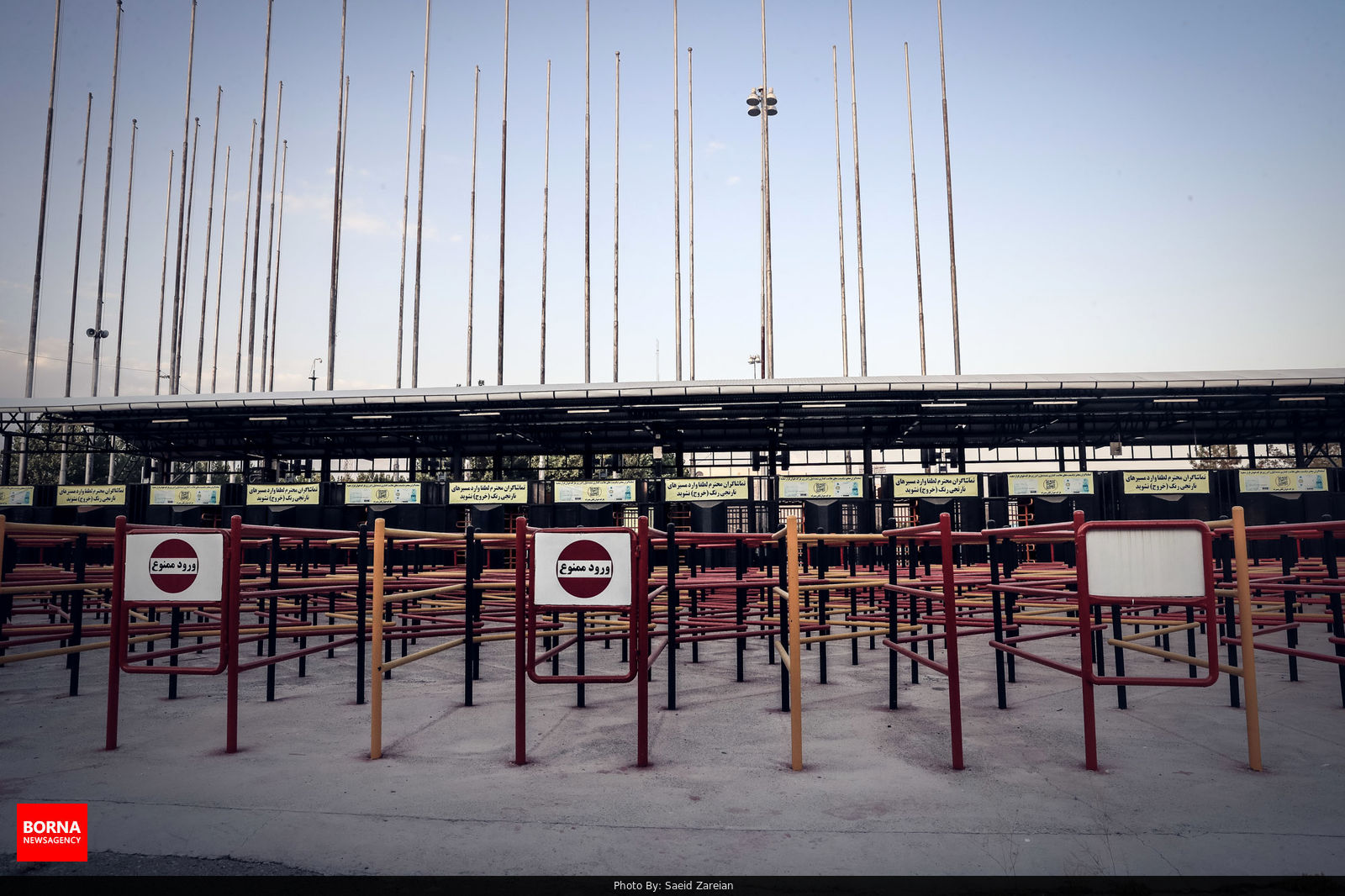 استادیوم آزادی بدون تماشاگر + عکس