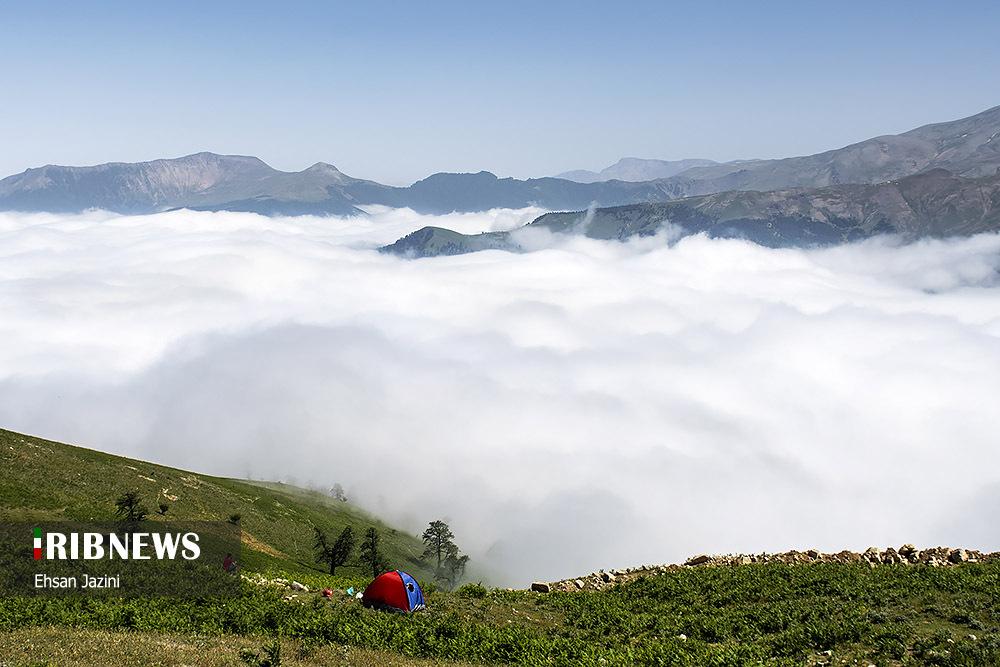 4679029403 - اقیانوس ابرها در ماسال گیلان + عکس