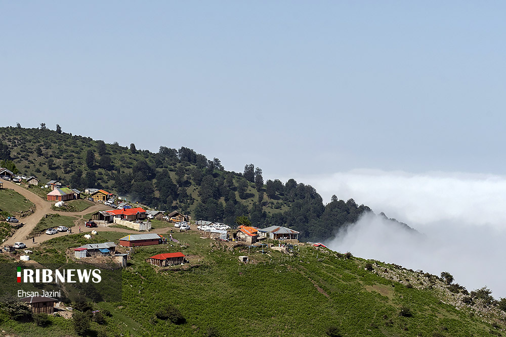 63418930945 - اقیانوس ابرها در ماسال گیلان + عکس