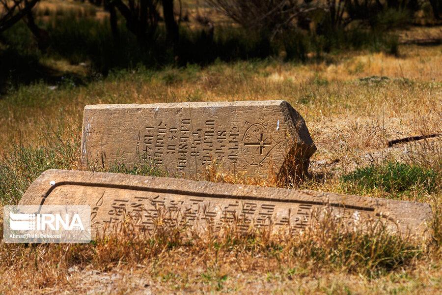 4472657 - سنگقبرهای منحصر به فرد گورستان ۲۰۰ ساله ارامنه + عکس