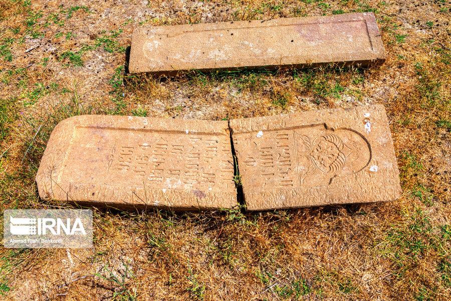4472665 - سنگقبرهای منحصر به فرد گورستان ۲۰۰ ساله ارامنه + عکس