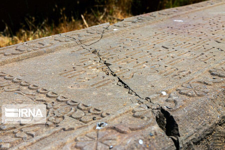4472668 - سنگقبرهای منحصر به فرد گورستان ۲۰۰ ساله ارامنه + عکس