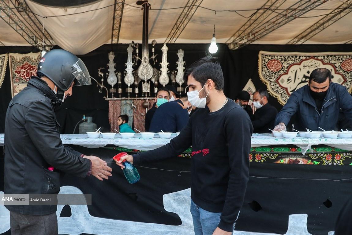 90878984 - موکبهای اربعین حسینی با رعایت پروتکل های بهداشتی + عکس