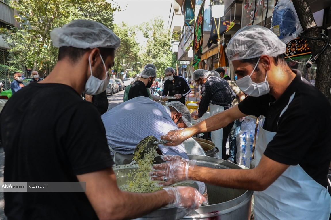 978985 - موکبهای اربعین حسینی با رعایت پروتکل های بهداشتی + عکس