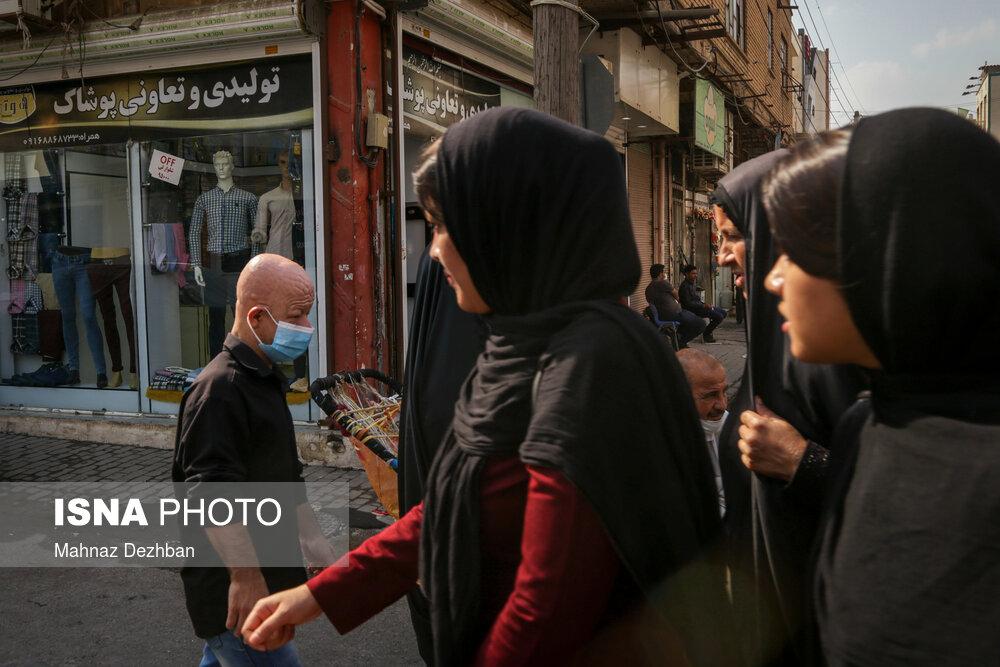 237483284 - بی توجهی شهروندان در روزهای قرمز کرونایی اهواز + عکس