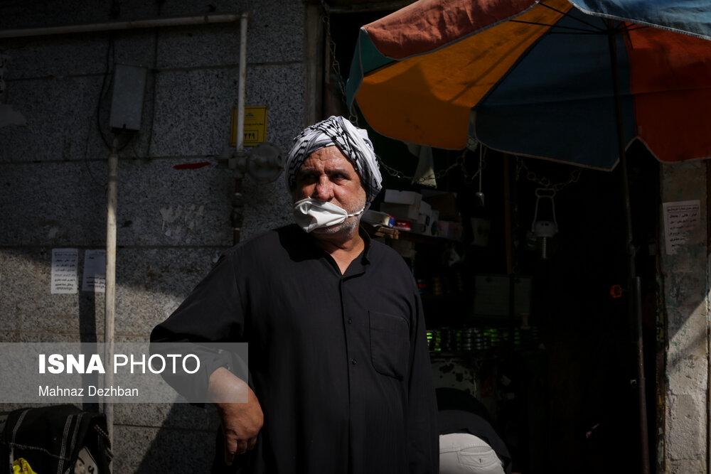 397448395 - بی توجهی شهروندان در روزهای قرمز کرونایی اهواز + عکس