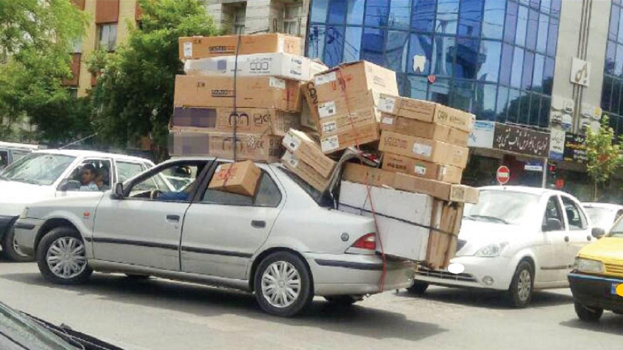 باربری با خودروهای لاکچری در تهران! + عکس