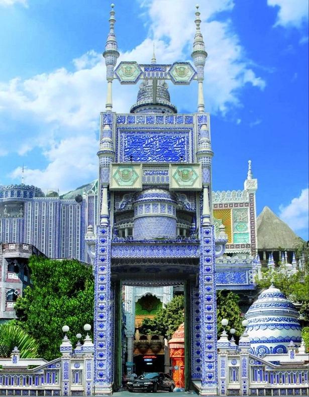 n00481778 r b 013 - مسجدی که شاهکار بی نظیر معماری است + تصاویر