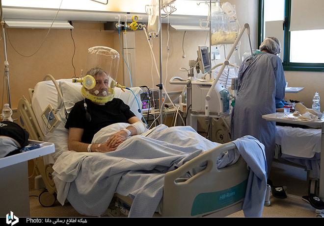 60082 - ماسک تنفسی عجیب در بیمارستان+عکس