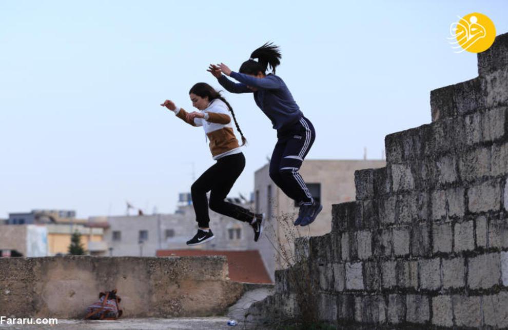 6f5c5eb6 7f81 44d0 afb3 995c5cd70fd7 - اولین دختران پارکورباز در فلسطین + عکس