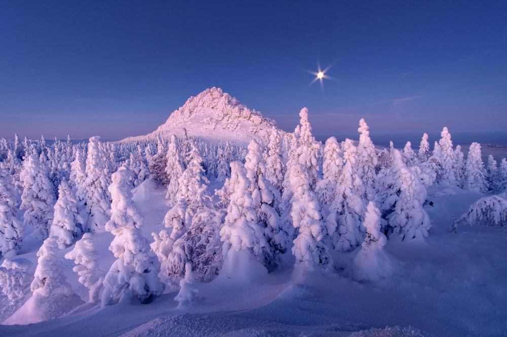 زمستان سحرآمیز روسیه + عکس