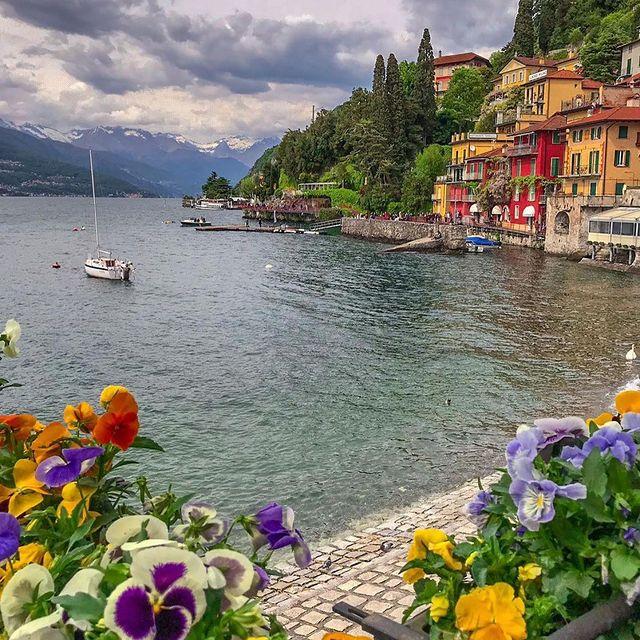 منظره ای دیدنی در ایتالیا + عکس
