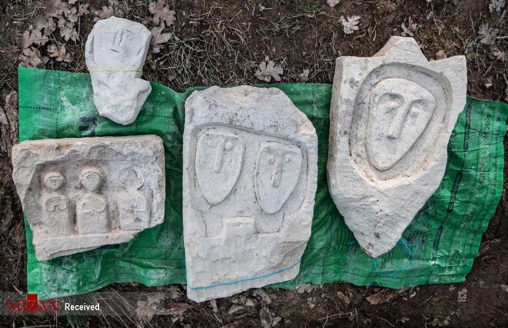 کشف گورستانی از عهد رم باستان + عکس