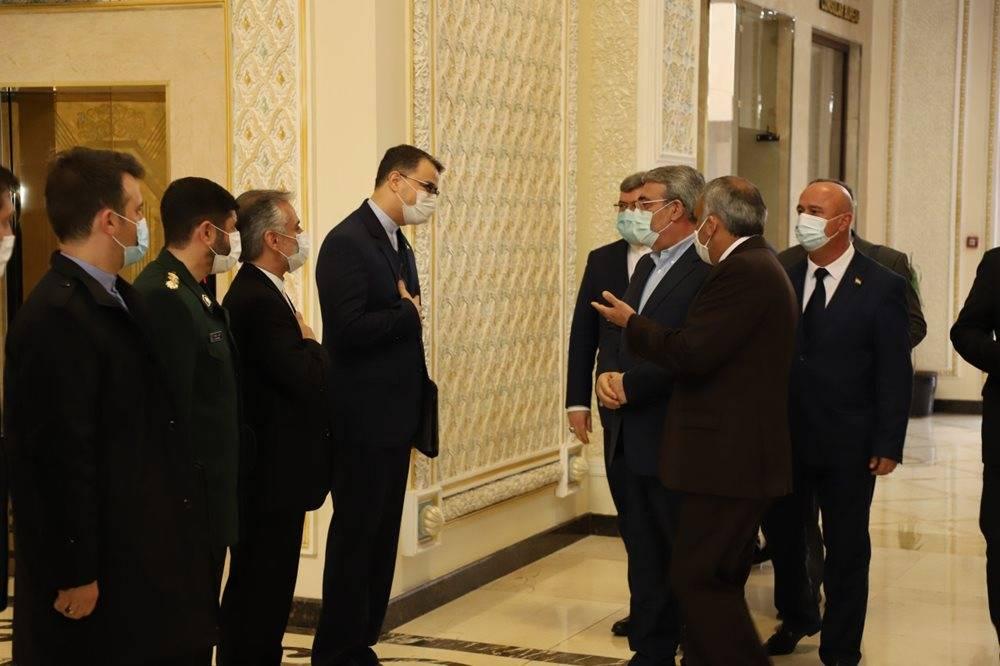 سفر وزیر کشور به تاجیکستان + عکس