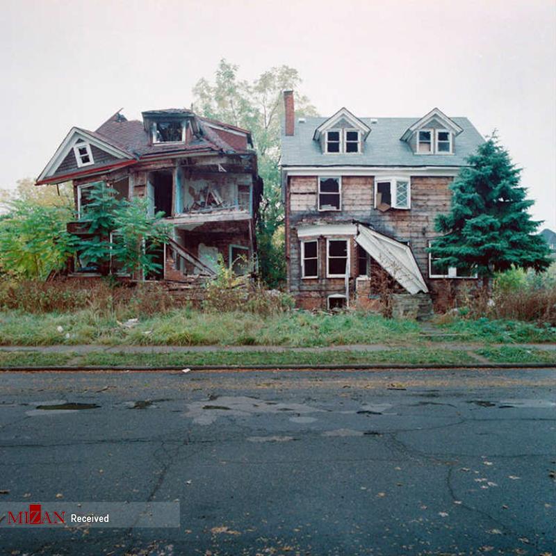 شهر خانههای متروکه در آمریکا + عکس