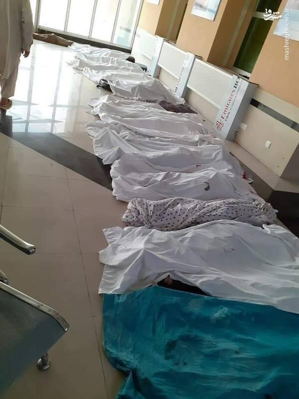 اقدام تروریستی مرگبار طالبان در مقابل یک دبیرستان دخترانه + عکس