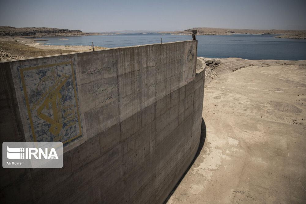 وضعیت بحرانی آب در سدهای خوزستان+ عکس