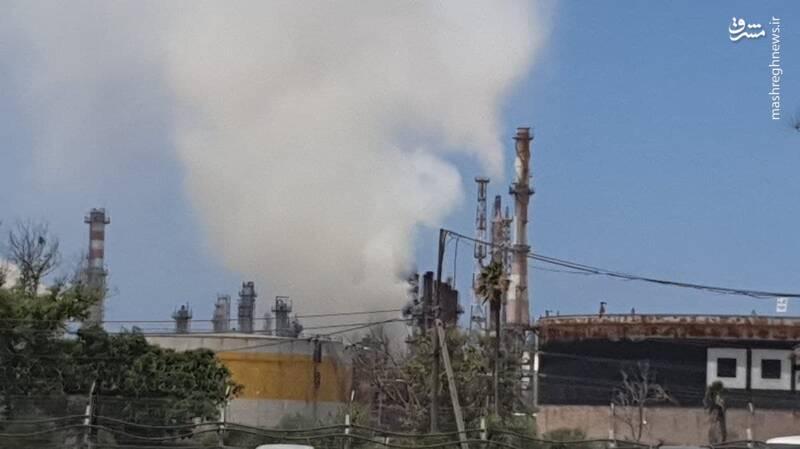 10031 - انفجار در پالایشگاه «اشدود» در فلسطین اشغالی + عکس