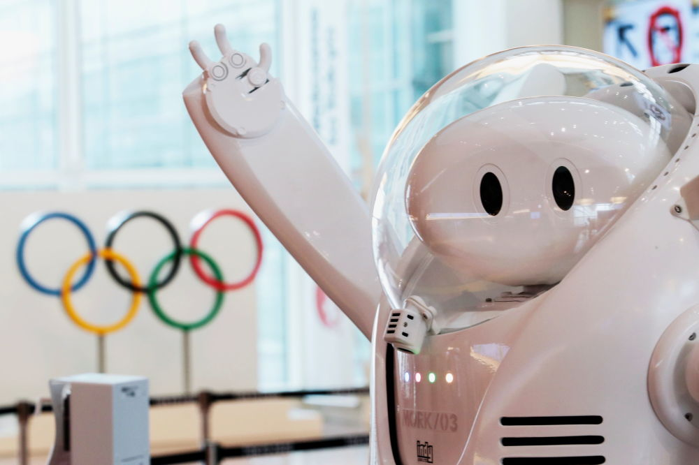 استقبال از ورزشکاران المپیک به شیوه کرونایی + عکس